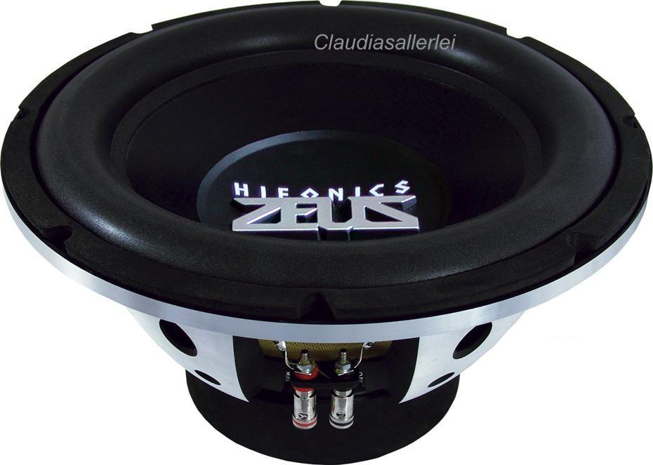 hifonics zeus zx1254 bass subwoofer 30cm woofer 1000 watt. Black Bedroom Furniture Sets. Home Design Ideas